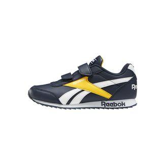 Reebok Sneaker Kinder Collegiate Navy / Solar Gold / White