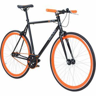 Galano Galano Blade 700c Singlespeed Fixie Rennrad schwarz/orange