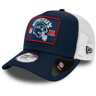 New Era New England Patriots Trucker Cap blue