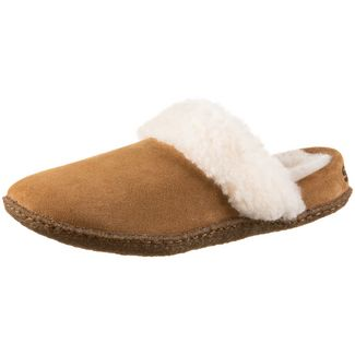Sorel Nakiska Slide II Hausschuhe Damen camel brown-natural