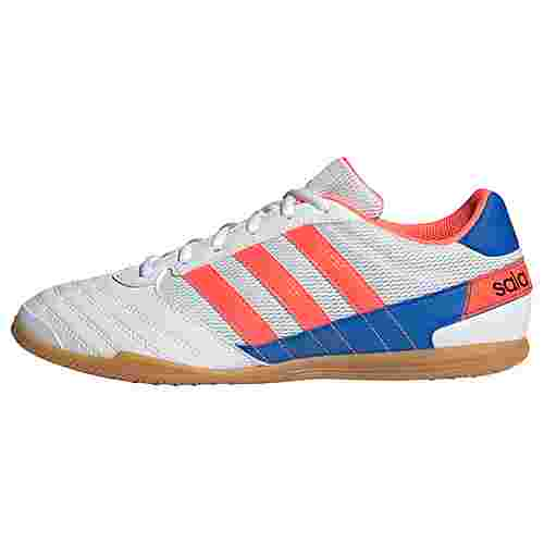 adidas Fußballschuhe Herren Cloud White / Signal Coral / Glory Blue