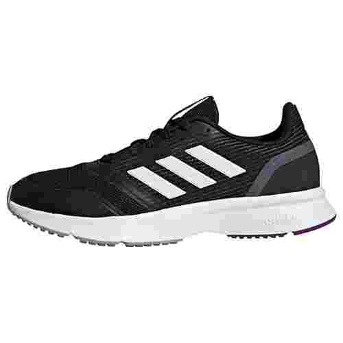 adidas Nova Flow Schuh Laufschuhe Damen Core Black / Cloud White / Light Granite