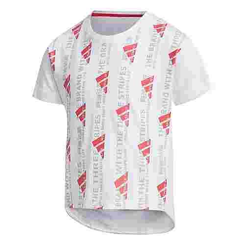 adidas T-Shirt Kinder Weiß