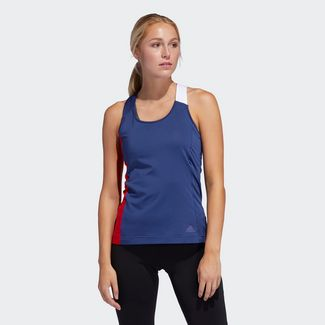 Tops & Tanks » Laufen von adidas in blau im Online Shop von