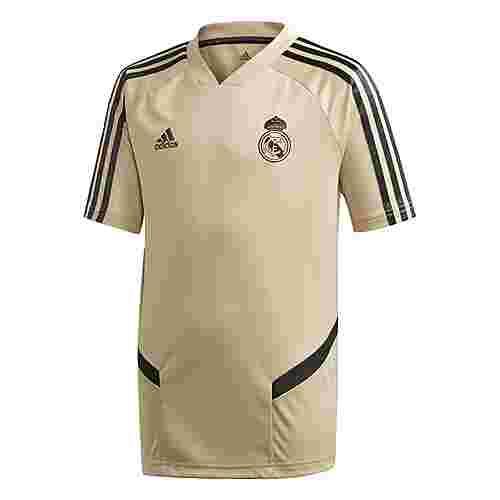 adidas Real Madrid Training Jersey Funktionsshirt Kinder Raw Gold / Black