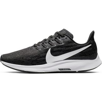 Nike Air Zoom Pegasus 36 Laufschuhe Damen black-white-thunder grey