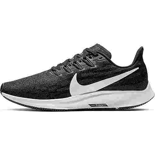 Nike Air Zoom Pegasus 36 Laufschuhe Damen black-white-thunder grey
