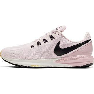 Nike Air Zoom Structure 22 Laufschuhe Damen platinum violet-black-plum chalk