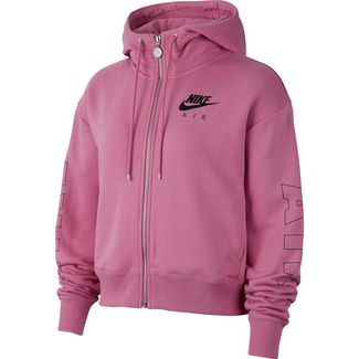 Nike Air Sweatjacke Damen magic flamingo-ice silver