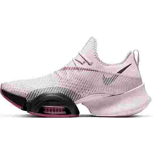 WMNS Nike Air ZoomSuperRep Damen Fitnessschuh rose lila schwarz BQ7043 665