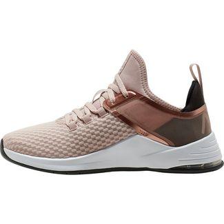 Nike Air Max Bella Trainer 2 Fitnessschuhe Damen stone mauve-metallic silver-black