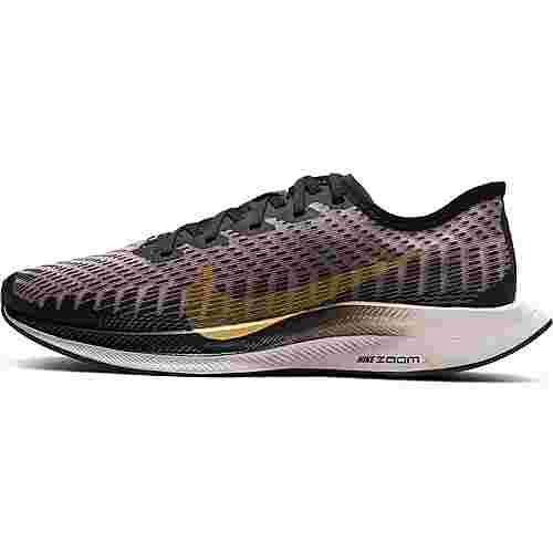 Nike Zoom Pegasus Turbo 2 Laufschuhe Damen black-infinite gold-plum chalk