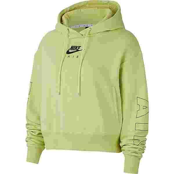 Nike Air Hoodie Damen limelight-ice silver