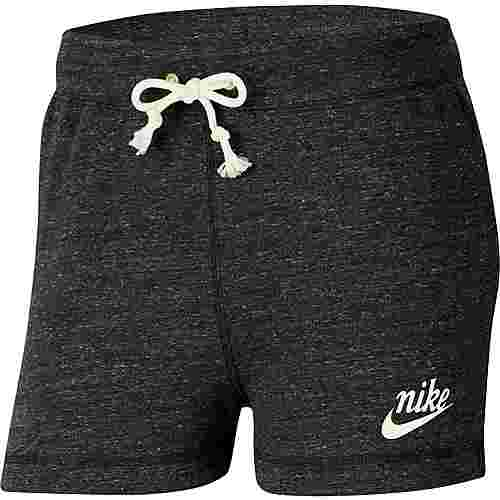 Nike Gym Vintage Shorts Damen black-sail