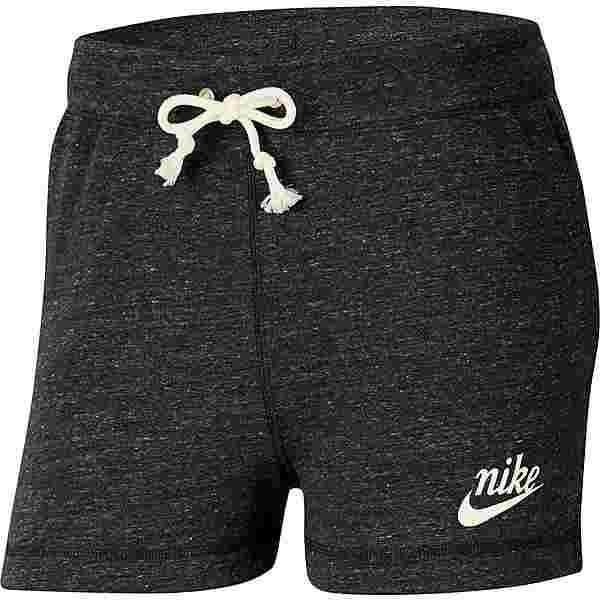 Nike Gym Vintage Shorts Damen black-sail