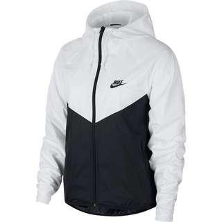 Nike NSW WINDRUNNER Windbreaker Damen white-black-black