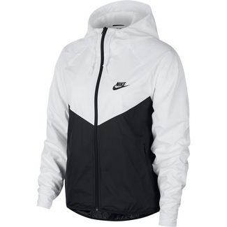 Nike Trainingsjacke Damen white-black-black
