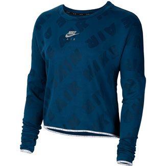 Nike Air Funktionsshirt Damen valerian blue-reflective silver