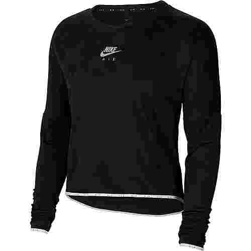 Nike Air Funktionsshirt Damen black-reflective silver