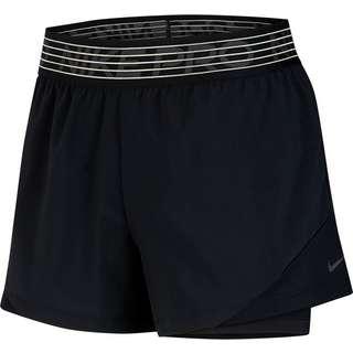 Nike Funktionsshorts Damen black-black-thunder grey