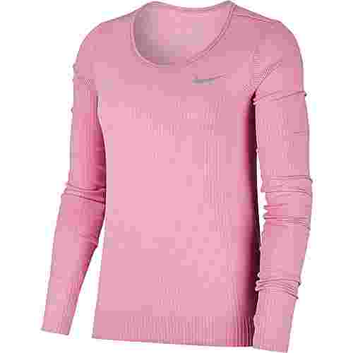 Nike Infinite Funktionsshirt Damen magic flamingo-reflective silver