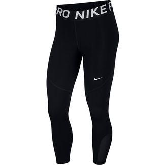 Nike Pro Trainingshose Damen black-white
