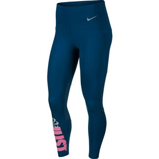 Nike Lauftights Damen valerian blue-reflective silver