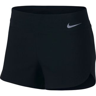 Nike Eclipse Funktionsshorts Damen black-reflective silver