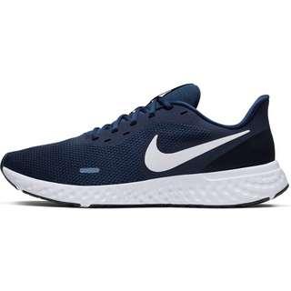 Nike Revolution 5 Laufschuhe Herren midnight navy-white-dk obsidian