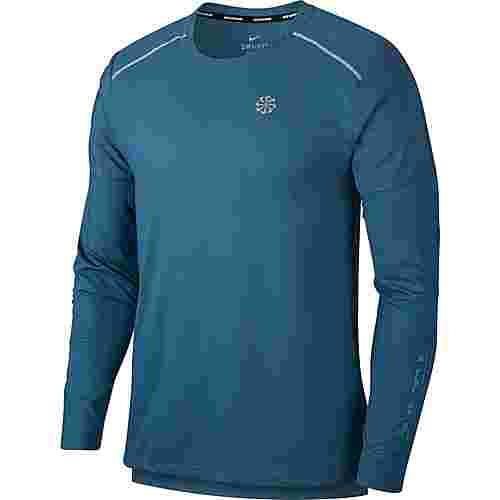 Nike Rise 365 Funktionsshirt Herren thunderstorm-reflective silv