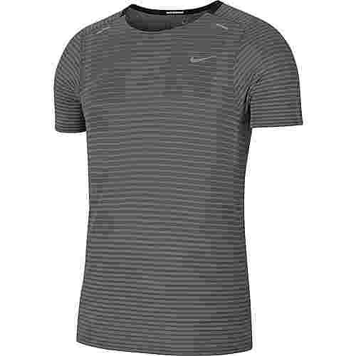 Nike Techknit Funktionsshirt Herren smoke grey-lt smoke grey-reflective silv