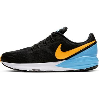 Nike Air Zoom Structure 22 Laufschuhe Herren black-laser orange-univ blue-white