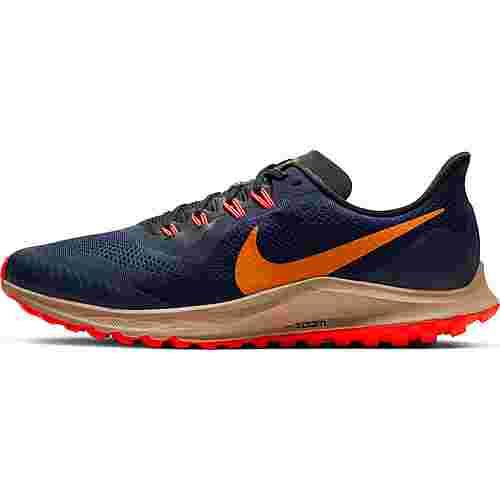 Nike Air Zoom Pegasus 36 Trail Laufschuhe Herren obsidian-magma orange-black-laser crimson-khaki