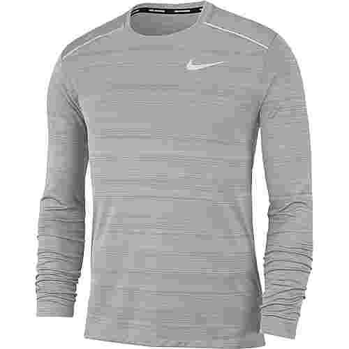Nike Dry Miler Funktionsshirt Herren smoke grey-htr-smoke grey-reflective silv