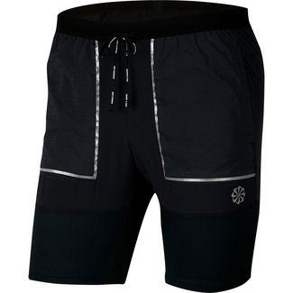 Nike Flex Stride Laufshorts Herren black-black-dk smoke grey-reflective silv