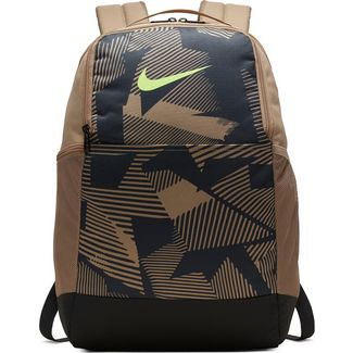 Nike Rucksack Brsla BKPK Aop M Daypack khaki-dk smoke grey-gost green
