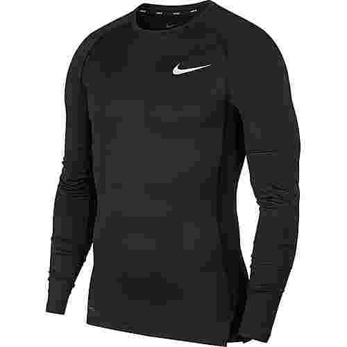 Nike Pro Funktionsshirt Herren black-white