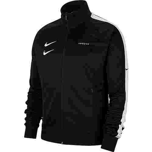 Nike NSW Swoosh Sweatjacke Herren black-white-black-white