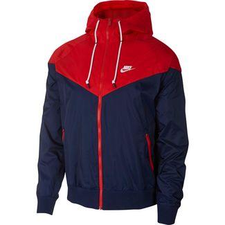 Nike NSW WR Trainingsjacke Herren midnight navy-university red-white