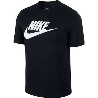 Nike NSW Icon Futura T-Shirt Herren black-white