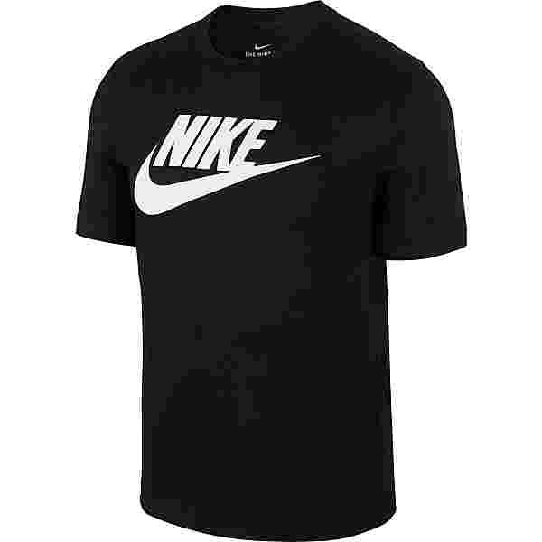 Nike NSW Icon Futura T-Shirt Herren black-white