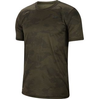Nike Dry  Aop Funktionsshirt Herren cargo khaki-black