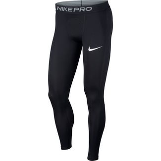 Nike Pro Tights Herren black-white