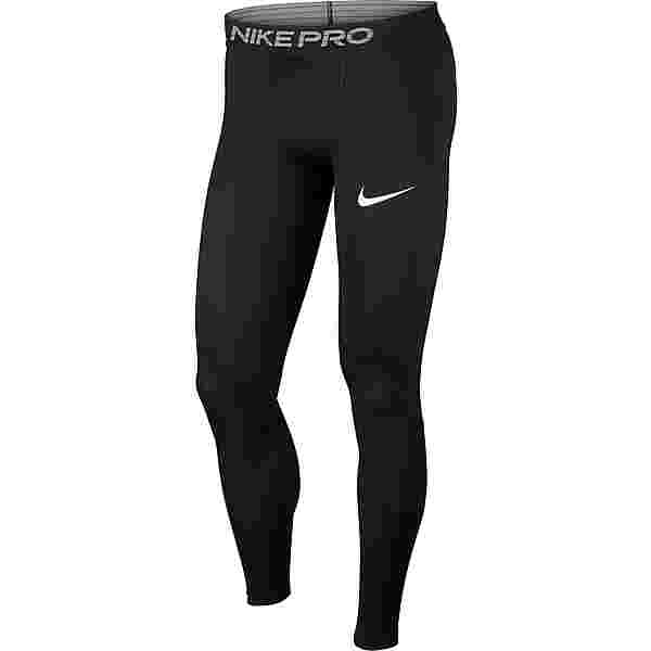 Nike Pro Tights Herren black-white