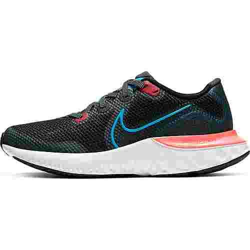 Nike Renew Run Laufschuhe Kinder black-laser blue-laser crimson