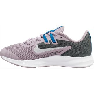 Nike Downshifter 9 Laufschuhe Kinder iced lilac-white-smoke grey-soar