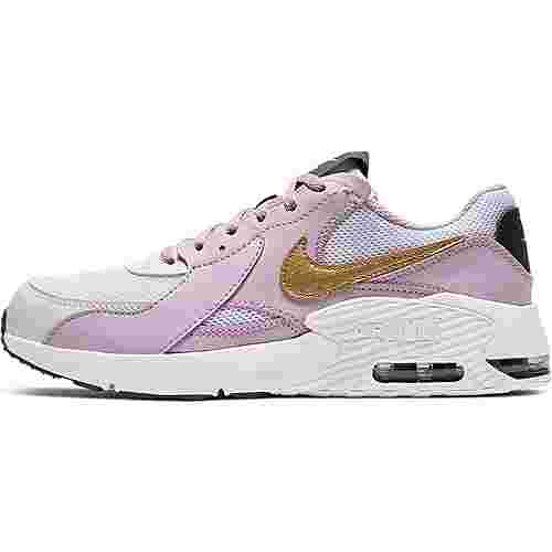 Nike Air Max Excee Sneaker Kinder white-metallic gold-iced lilac-off noir