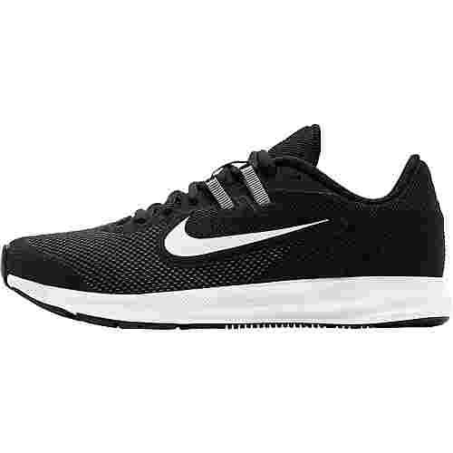 Nike Downshifter 9 Laufschuhe Kinder black-white-anthracite-cool grey