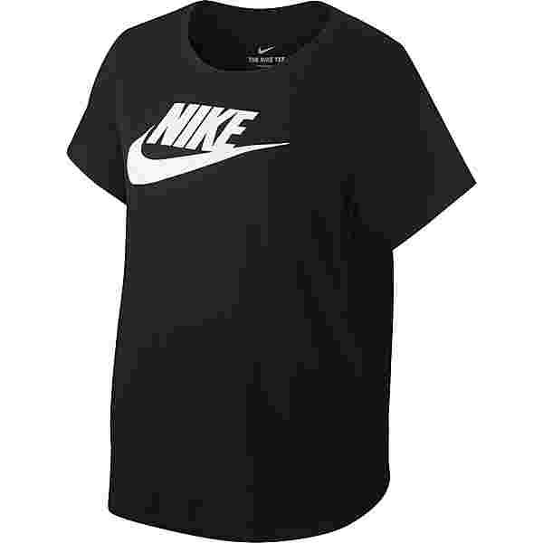 Nike Plus Size T-Shirt Damen black-white