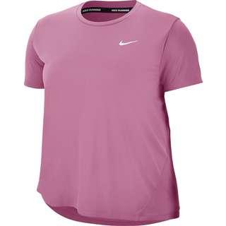 Nike Plus Size Funktionsshirt Damen magic flamingo-reflective silv